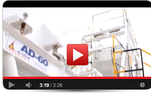 video planta ad 60 para producir concreto hormigon
